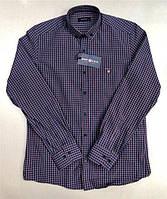 Рубашка мужская Gant D5175 темно-синяя