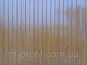 Профнастил ПС-8 ольха темная, толщина 0,40мм, фото 2