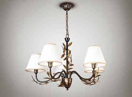 Люстра для зала, спальни 5-ти ламповая 11605