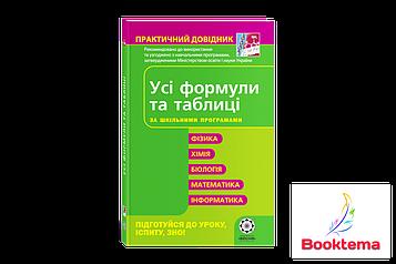 Дудінова О.В - Практичний  довідник: Усі формули та таблиці для школярів та абітурієнтів