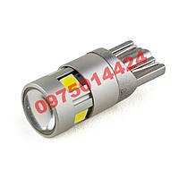 Самые яркие светодиодные LED лампы Т10 (габариты, подсветка номера)