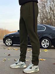 Зимние мужские спортивные штаны хаки цвета от производителя AV Sportswear