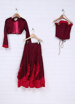 Платье Enigma 11/12 Бордовый (GGR-D003-06_Bordo)