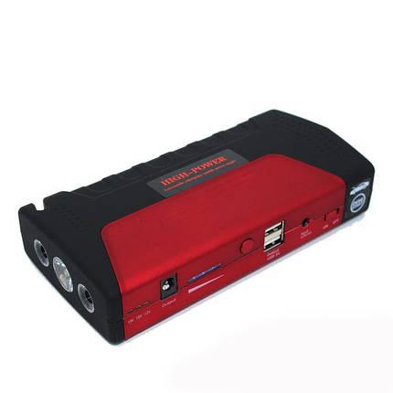 Пусковое устройство авто аккумулятора Jump Starter 2000W красный, фото 2