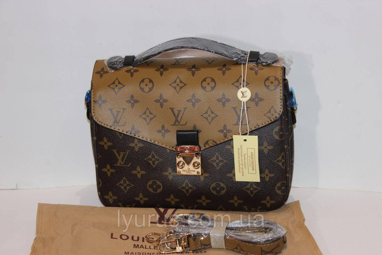 Женская сумка клатч Louis Vuitton Pochette Metis