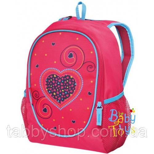 Рюкзак дошкольный Herlitz ROOKIE Hearts Pink