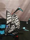 Детская коляска-трость BAMBI M 2719B (Голубая) с корзинкой, фото 9