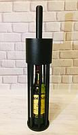 """Клетка для бутылки виски """"Jameson"""" 0.5L, черный матовый"""