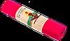 Коврик для йоги и фитнеса TPE 6 мм красный