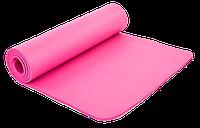 Коврик для йоги и фитнеса NBR SP-Planeta 10мм розовый