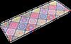 """Коврик для йоги замшевый Record двухслойный 3мм """"Восточный Калейдоскоп"""""""