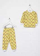 Пижама (кофта, штаны) АЛЕКС 28 Желтый (MA-Alex_Yellow)