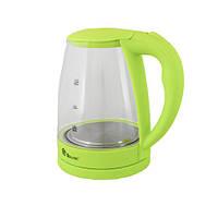 Стеклянный электрический чайник Domotec MS-8213, фото 2