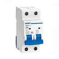 Автоматический выключатель на постоянный ток NB1-63DC 4P C63 DC1000V 6kA
