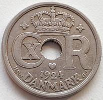 Дания 25 эре 1924