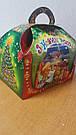 """Новогодняя подарочная картонная упаковка """"Сундучек"""" для конфет  на 800 грамм, фото 3"""