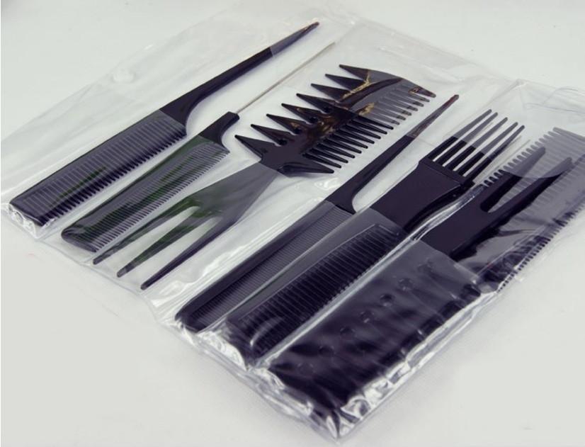 Набор расчёсок  10 шт. в наборе