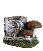 Садовая фигура Пенек с ежиком, Пенек с уткой и Пенек березовый, фото 3