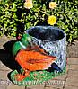 Садовая фигура Пенек с ежиком, Пенек с уткой и Пенек березовый, фото 5