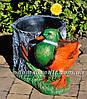 Садовая фигура Пенек с ежиком, Пенек с уткой и Пенек березовый, фото 4