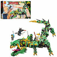Конструктор Нинзяго 10718 робот-дракон 573 дет., фото 1