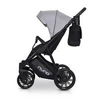 Детская универсальная прогулочная коляска Riko Nuno 04 Grey Fox