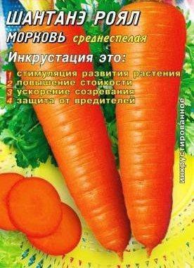 Семена моркови Шантане Роял (США) 2000 шт. Инк., фото 2