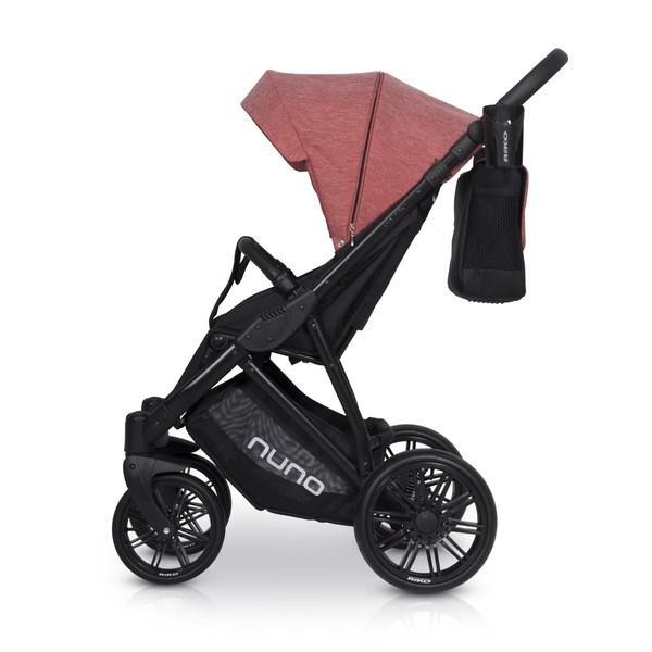 Детская универсальная прогулочная коляска Riko Nuno 03 Scarlet