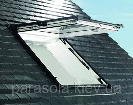 Вікно мансардне Designo WDF R85 K W WD AL 07/11