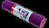 Коврик для йоги двухсторонний TPE 6 мм фиолетовый
