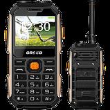 Мобильный телефон-рация Grsed E8800  2 сим,2,4 дюйма,1,3 Мп,8800 мА\ч., фото 2
