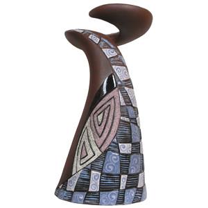 Ваза керамическая Геликс