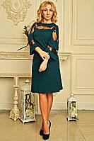 """Женское платье """"Элисон"""" (зеленое), фото 1"""