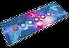 Коврик для йоги PVC+замша 3 мм синий