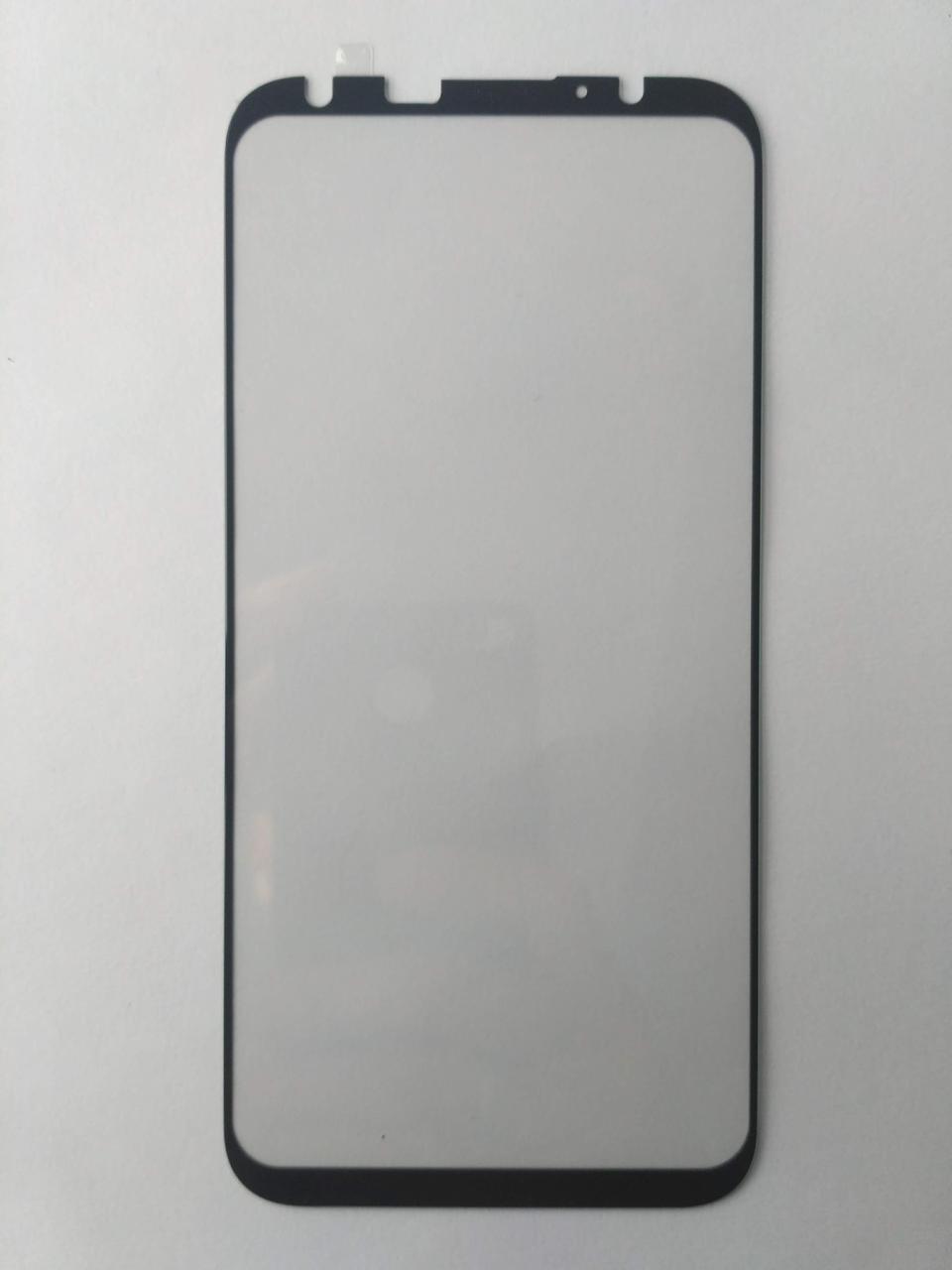 Защитное стекло для Meizu 16th Plus с черной рамкой