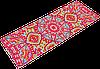 Коврик для йоги PVC+замша 3 мм розовый