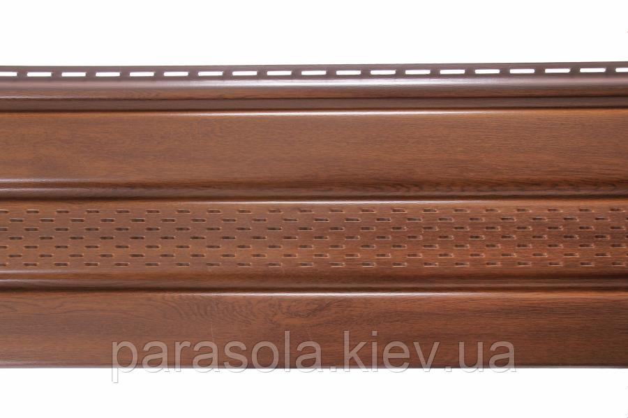 Панель ASKO горіх перфорована 3.5 м, 1.07 м2