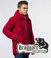 Куртка красная зимняя мужская Braggart Arctic 28431P