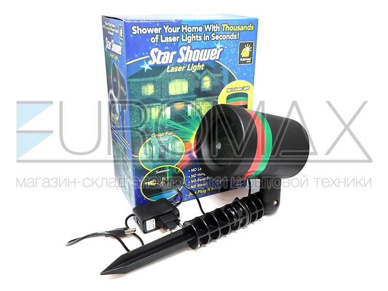 Проектор лазерный пластиковый Star Shower LASER-08