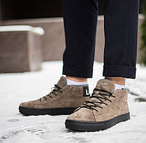 """Зимние ботинки, кроссовки на меху Look Force """"Коричневые"""", фото 2"""