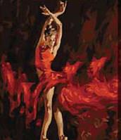 """Картина по номерам """"Танец на пуантах"""" 40*50см, фото 1"""