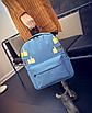 Рюкзак городской молодежный Like Голубой, фото 3