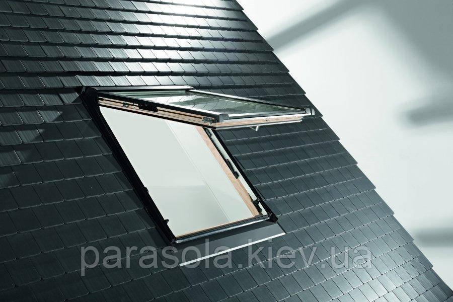 Вікно мансардне Designo WDF R85 H N WD AL 09/09