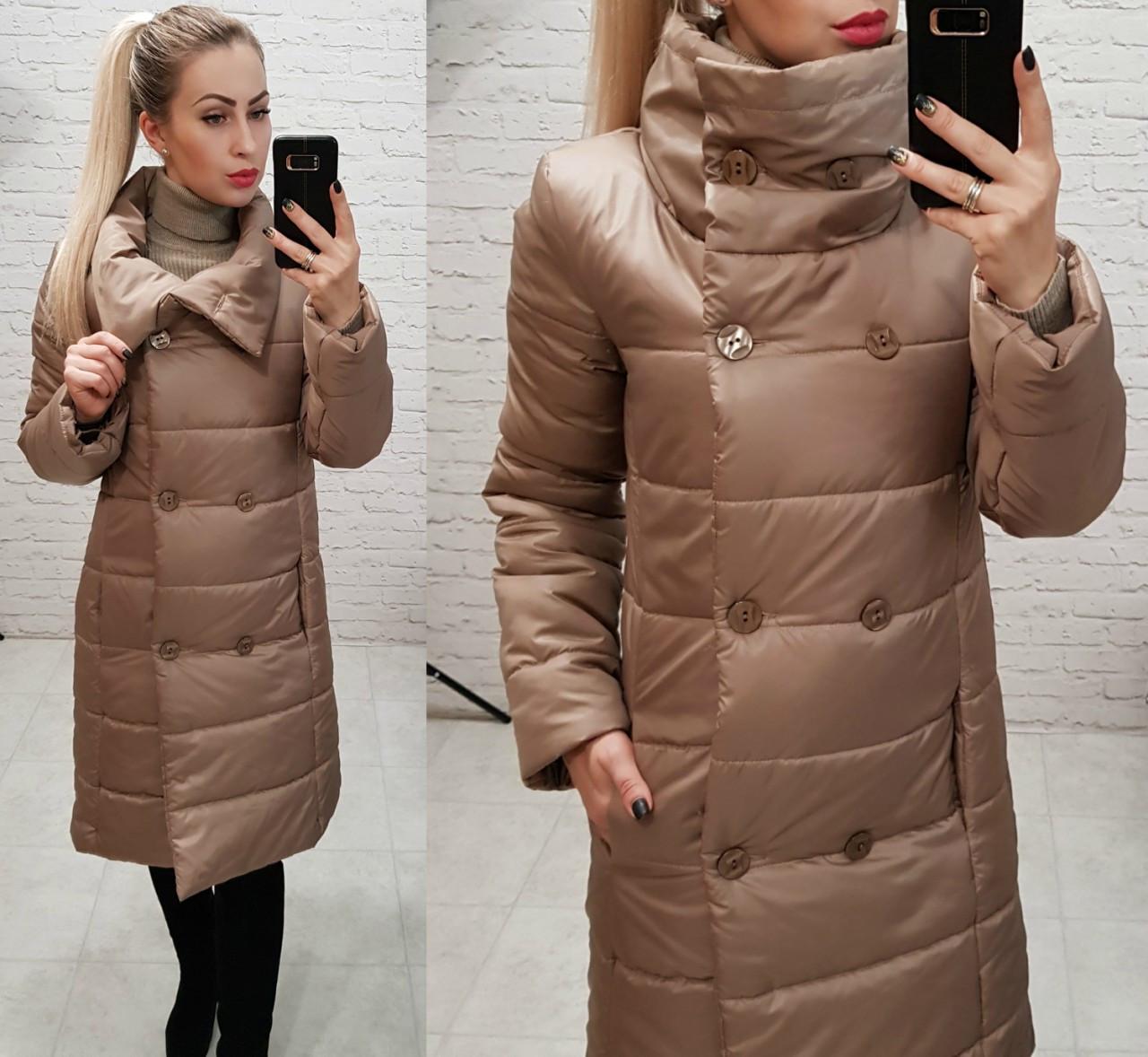 Куртка пальто, модель 1002, в 8-ми расцветках