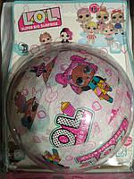 Игрушка сюрприз кукла  LOL MEGA шар серия 15 розовый