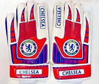 Перчатки вратарские детские CHELSEA р.6 с защитными вставками, фото 1