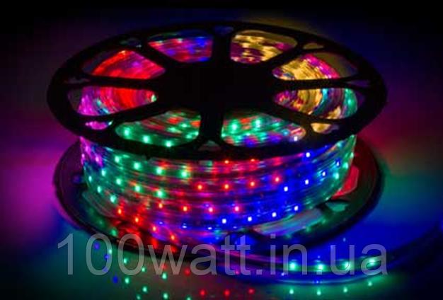 Светодиодная лента 48Led/m 2835 220В STANDART цветная RGB