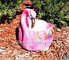 Садовая фигура Кашпо Фламинго, фото 2