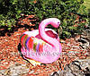Садовая фигура Кашпо Фламинго, фото 3