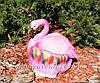 Садовая фигура Кашпо Фламинго, фото 6
